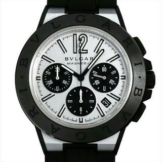 ブルガリ(BVLGARI)のルガリ ディアゴノ マグネシウム クロノグラフ メンズ 腕時計(腕時計(アナログ))