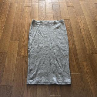 エイチアンドエム(H&M)のタイトスカート (ひざ丈スカート)