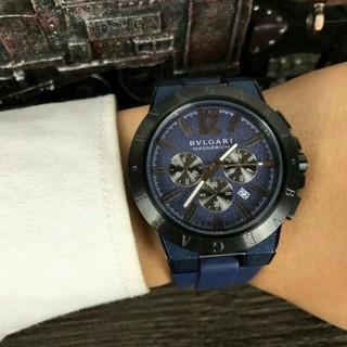 ブルガリ(BVLGARI)のブルガリ BVLGARI ディアゴノ ウルトラネロ メンズ 腕時計(腕時計(アナログ))