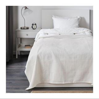 イケア(IKEA)のIKEA イケア ベッドカバー シーツ ホワイト シングル (シーツ/カバー)