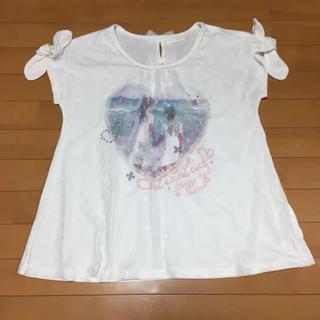 リズリサ(LIZ LISA)のLIZ LISA   チュール 重ね着 Tシャツ (0) リズリサ(Tシャツ(半袖/袖なし))