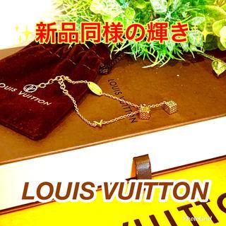 ルイヴィトン(LOUIS VUITTON)のLOUIS VUITTON★ラッキーグラムブレス★ダイス サイコロモチーフ(ブレスレット/バングル)