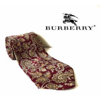 バーバリー(BURBERRY)の【廃番品】Burberry バーバリー 柄 ネクタイ (ネクタイ)