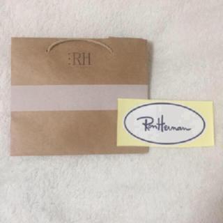 Ron Herman - 新品未使用♡ロンハーマンの紙袋&大判ステッカー