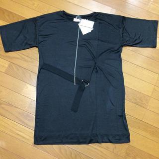 スズタン(suzutan)のREORMIX ペンダントネックレス付きトップス タグ付き未使用品(カットソー(半袖/袖なし))