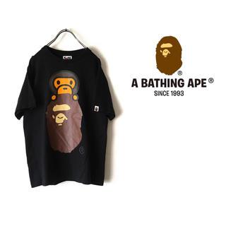 アベイシングエイプ(A BATHING APE)の【美品】A BATHING APE エイプ Tシャツ(Tシャツ/カットソー(半袖/袖なし))