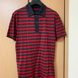 ルイヴィトン(LOUIS VUITTON)のルイヴィトン ボーダーポロシャツ(ポロシャツ)