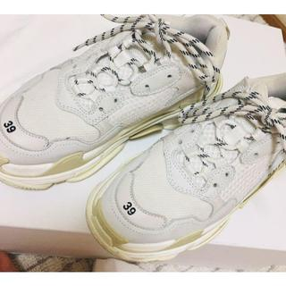 Balenciaga triple s size 39 カラー ホワイト (スニーカー)