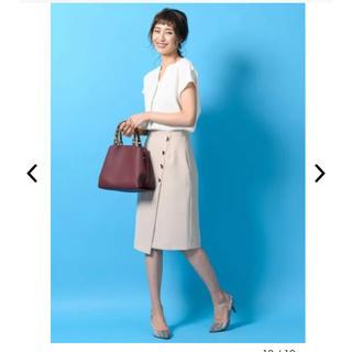 Demi-Luxe BEAMS - タグ付き tonal スカート