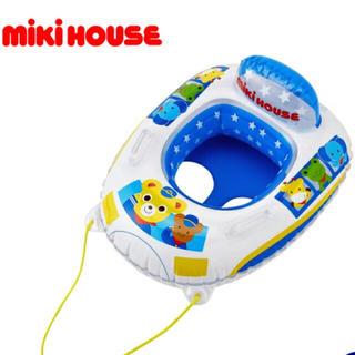 ミキハウス(mikihouse)の新品★ミキハウス 浮輪 ボート(マリン/スイミング)