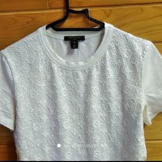 ルイヴィトン(LOUIS VUITTON)のLOUIS VUITTON スパンコール Tシャツ(Tシャツ(半袖/袖なし))