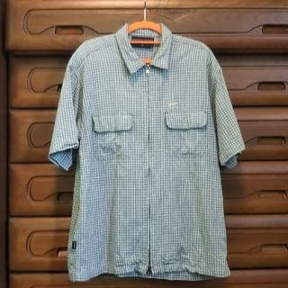 ヴァンズ(VANS)のお値下げ♪VANS  古着 半袖シャツL 90's(シャツ)