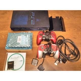 プレイステーション2(PlayStation2)のPS2 SCPH-50000NBミッドナイト・ブラック HDL(家庭用ゲーム本体)