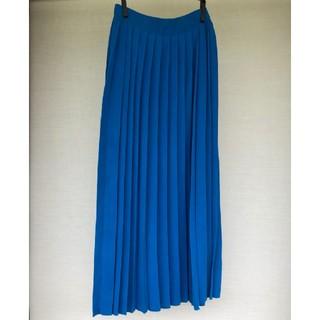 エンフォルド(ENFOLD)の enfold ニット プリーツ スカート 36(ロングスカート)