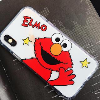 セサミストリート(SESAME STREET)のiPhoneケース エルモ クリア(iPhoneケース)
