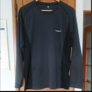 モンベル(mont bell)のmont-bell クールロングスリーブTシャツ Lサイズ(Tシャツ/カットソー(七分/長袖))