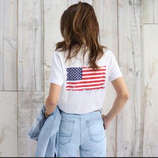 American Eagle - 新作☆LUSSO SURF 星条旗Tシャツ  Sサイズ☆ベイフロー