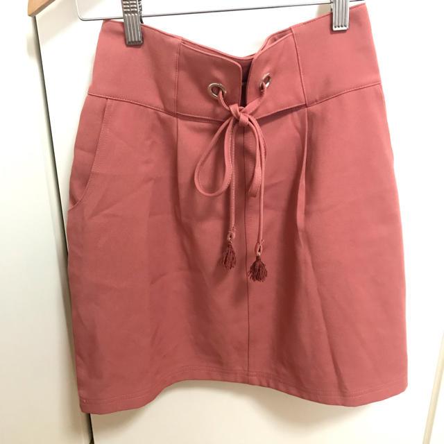 one after another NICE CLAUP(ワンアフターアナザーナイスクラップ)の台形スカート レディースのスカート(ミニスカート)の商品写真