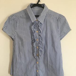 クリアインプレッション(CLEAR IMPRESSION)のクリアインプレッション ストライプ 半袖 ブラウス(シャツ/ブラウス(半袖/袖なし))