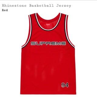 シュプリーム(Supreme)のSupreme Rhinestone Basketball Jersey バスケ(タンクトップ)