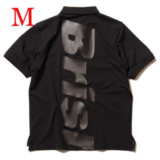 エフシーアールビー(F.C.R.B.)の【M】新品 FCRB BIG LOGO POLO 黒 ポロシャツ(ポロシャツ)