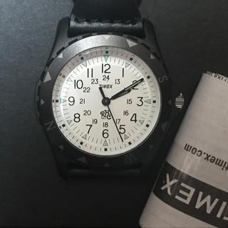ロンハーマン(Ron Herman)の値下げ【Ron Herman×TIMEX SAFARI】新品未使用アナログ時計(腕時計(アナログ))