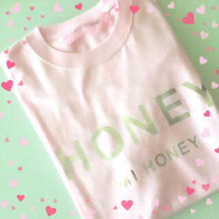 ハニーミーハニー(Honey mi Honey)のhoneymehoney ロゴTシャツ(Tシャツ(半袖/袖なし))