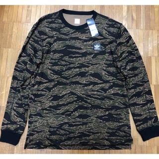 アディダス(adidas)の新品 アディダス adidas カモフラ サーマル ロンTシャツ カットソー(Tシャツ/カットソー(七分/長袖))