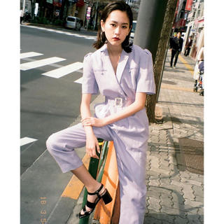 SLY - 【SLY】LINEN JUMP SUITS