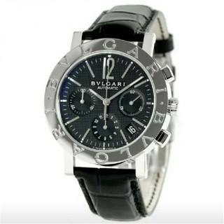 ブルガリ(BVLGARI)のBVLGARI ブルガリブルガリ クロノ BB42WSLDCH メンズ  腕時計(腕時計(アナログ))