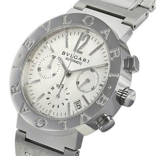 ブルガリ(BVLGARI)のBVLGARI ブルガリブルガリ クロノ BB38WSSDCH/N(腕時計(アナログ))