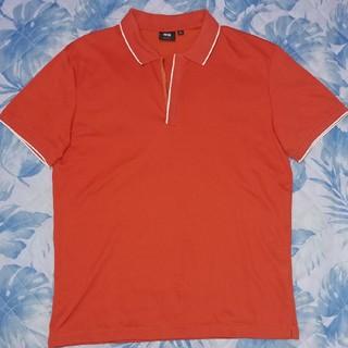 5fddf565d8e66d ユニクロ オレンジ ポロシャツ(メンズ)の通販 24点 | UNIQLOのメンズを ...