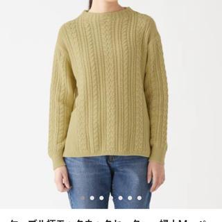 ムジルシリョウヒン(MUJI (無印良品))の無印 モックネックセーター 2019春(ニット/セーター)