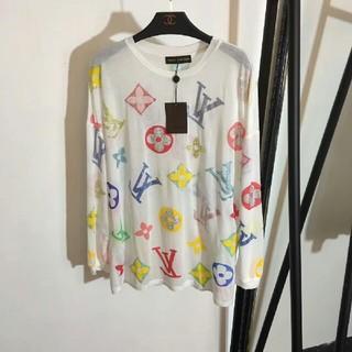 ルイヴィトン(LOUIS VUITTON)の新モデル 春夏コーデ ルイ・ヴィトン レディース Tシャツ(Tシャツ(長袖/七分))