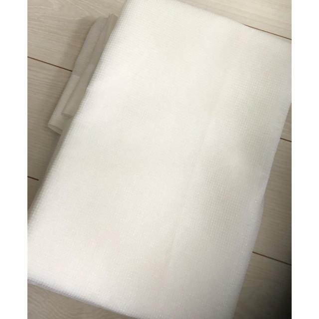 ベルメゾン(ベルメゾン)のレースカーテン 100×88cm 2枚組 UVカット  インテリア/住まい/日用品のカーテン/ブラインド(レースカーテン)の商品写真