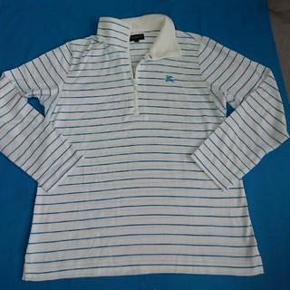 b0fb055282bfe バーバリー(BURBERRY)のバーバリー ゴルフ 長袖メッシュ入りポロシャツ(ポロシャツ)