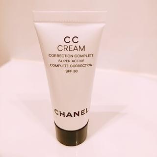 シャネル(CHANEL)のシャネル♡CCクリームN♡5mlミニサイズ♡ベージュ21(BBクリーム)