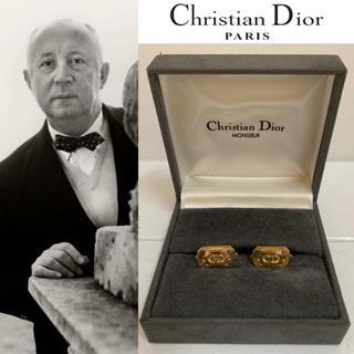 DIOR HOMME - Christian Dior PARIS ヴィンテージ ドイツ製 CDロゴカフス