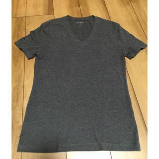 バナナリパブリック(Banana Republic)のBANANA REPUBLIC グレーTシャツ(Tシャツ/カットソー(半袖/袖なし))