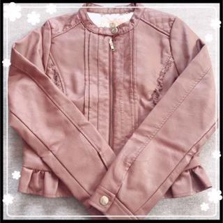 しまむら - しまむら リズメロ ライダースジャケット