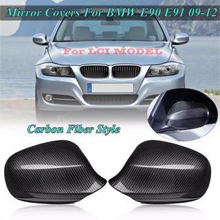 BMW - BMW E90 91 LCI カーボン ファイバー ルック・ミラーカバー