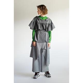 ENFOLD - ENFOLD 19SS  レイヤードシャツ  グレンチェック