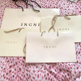 イング(INGNI)のINGNI ショッパー (ショップ袋)