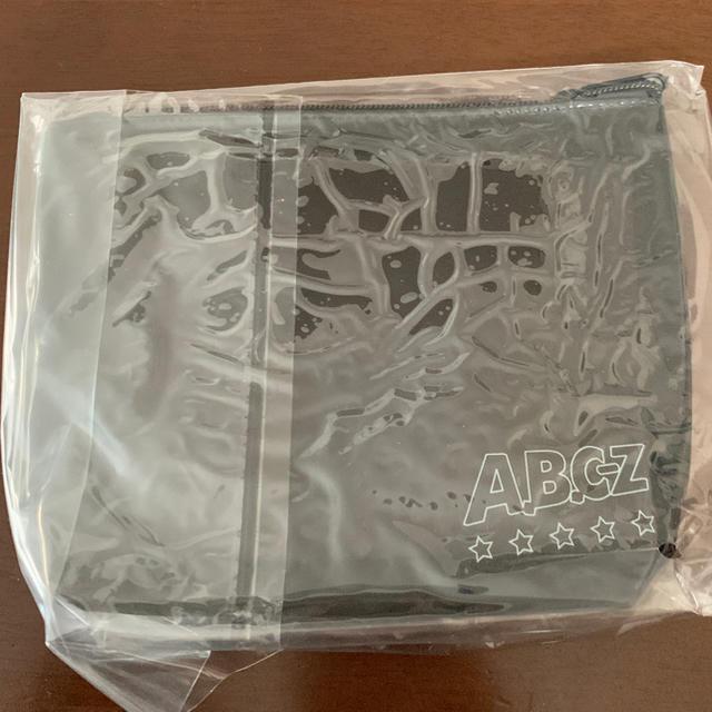 A.B.C.-Z(エービーシーズィー)のA.B.C-Z ポーチ エンタメ/ホビーのタレントグッズ(アイドルグッズ)の商品写真