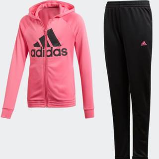アディダス(adidas)のadidas  トラックスーツ  ピンク/ブラック : J160(ウェア)