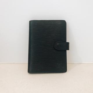 ルイヴィトン(LOUIS VUITTON)の⭐️ ルイヴィトン エピ ブラック 手帳カバー(手帳)