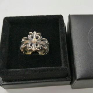クロムハーツ(Chrome Hearts)のCHrome hearts 指輪 リング 刻印 透かし彫り 男女兼用 (リング(指輪))