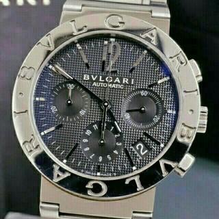 ブルガリ(BVLGARI)のBVLGARI ブルガリブルガリ BB38BSSDCH/N メンズ(腕時計(アナログ))