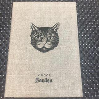 グッチ(Gucci)の新品 未使用 GUCCIガーデン ノート 猫柄(ノート/メモ帳/ふせん)