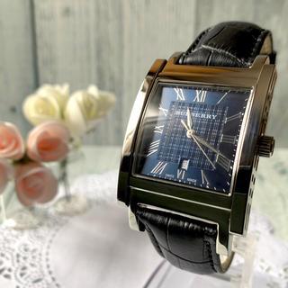 バーバリー(BURBERRY)の【美品】BURBERRY バーバリー BU1551 腕時計 スクエア(腕時計(アナログ))